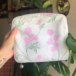 Vintage makeup/travel bag